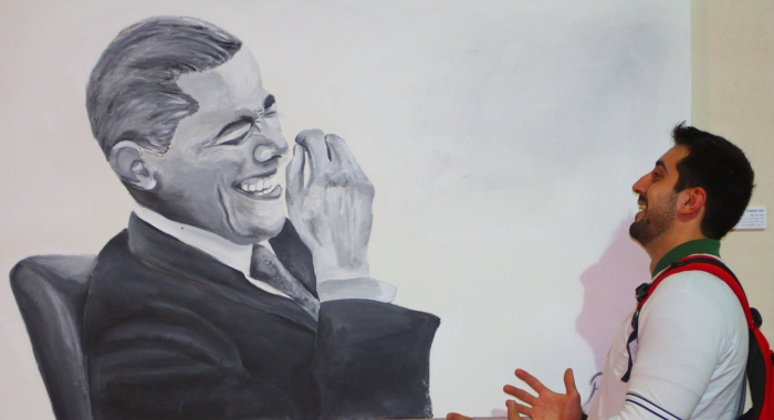 Painting_Obama_Laughing
