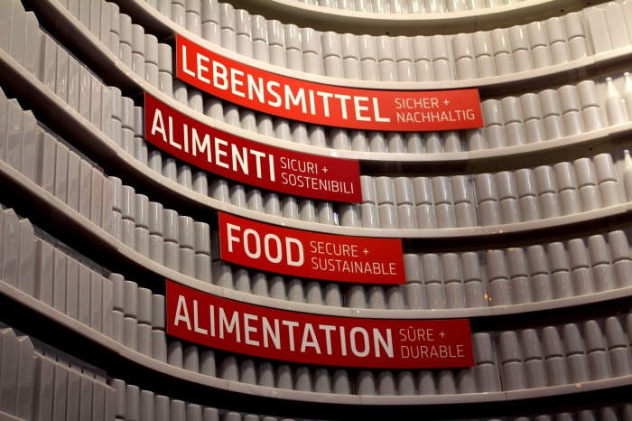 German Pavilion Expo 2015 - Content centre Food Secure and sustainable
